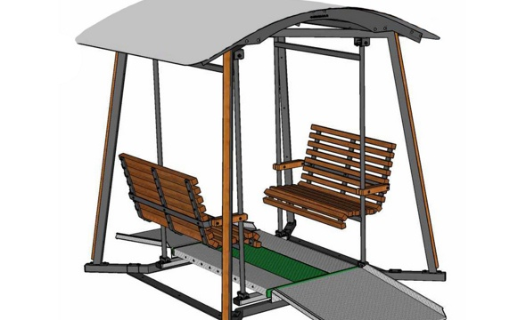 Oasis-turvakeinu Lappset Groupille valmistuu Mittametallissa.