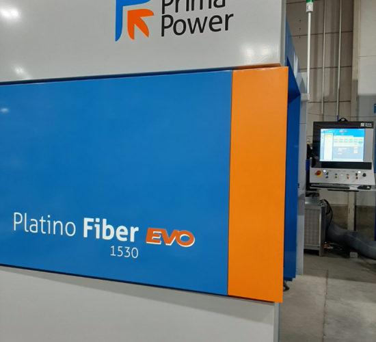 PrimaPower Platino Fiber 6kW kuitulaser levyleikkeiden tekoon.